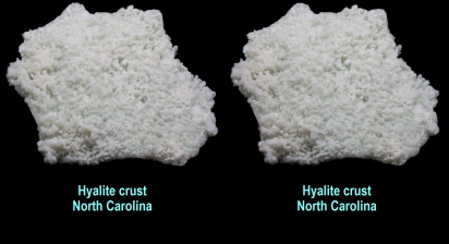 Hyalite crust - North Carolina